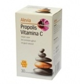 Alevia Propolis Vitamina C cu Echinacea trateaza eficient durerile de gat