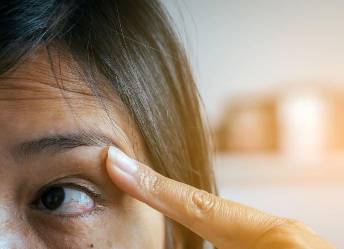 testarea ochiului de îngrijire