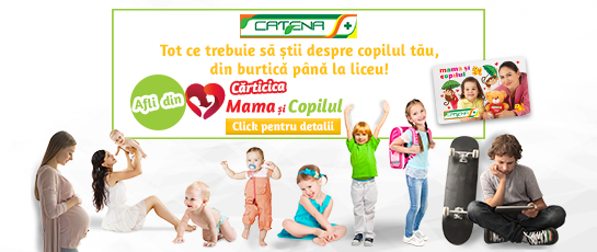 CADOURI pentru mamici si pitici. Te asteptam in farmaciile Catena!