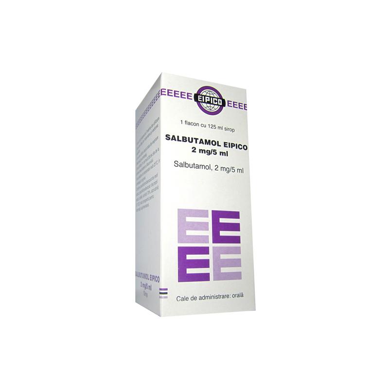 Salbutamol Ventolin 2mg 5ml Syrup