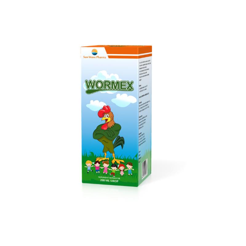 wormex sirop durata tratament