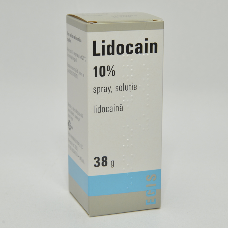 lidocaina spray pret farmacie