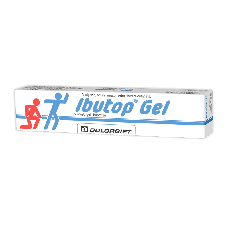 Ibutop gel 50mg/g, Zdrovit, 50g - Prospect | mysneakers.ro