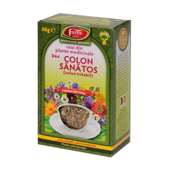 Ceai colon sanatos punga 50g Fares