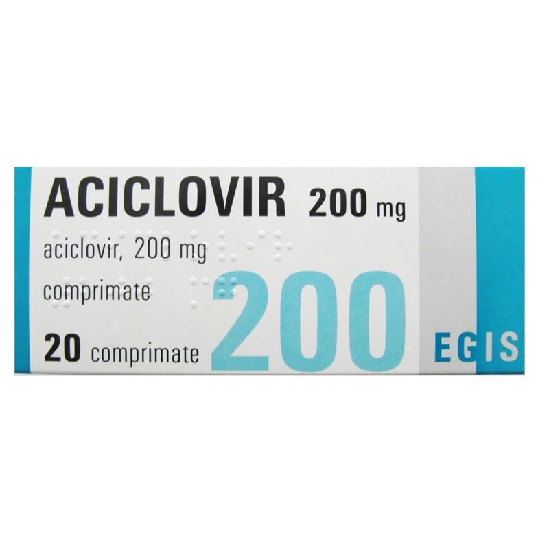 Aciclovir 200 mg x 20 comprimate ARM | Catena | Preturi mici!