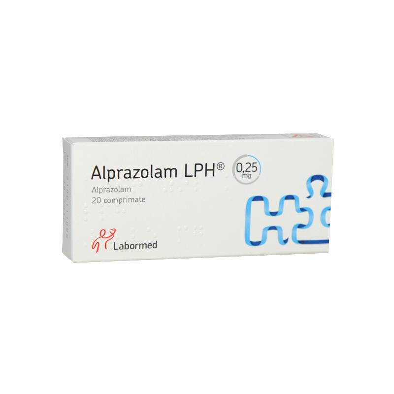 Alprazolam 0.50 mg efectos