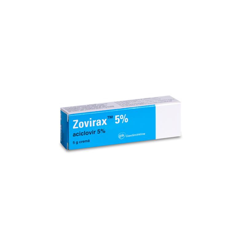 Zovirax crema 5%, 5 g | Catena | Preturi mici!