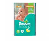Pampers Small (4-9 kg) x 15 buc.