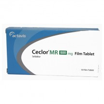 Ceclor MR 500 mg, 10 comprimate