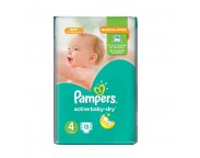 Pampers nr.4 Active Baby 7-14 kg x 13 buc