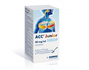 ACC junior 20 mg / ml x 100 ml sirop