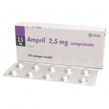 Ampril 2.5mg, 3 blistere x 10 comprimate