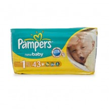 Pampers New Born Value 43 buc.