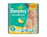Pampers nr.2 New Baby Mini 3-6 kg x 100 buc