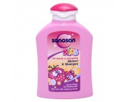 SANOSAN Kids sampon - dus zmeura x 200 ml