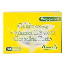 Naturalis Calciu cu D3 Complex Forte x 30cpr.