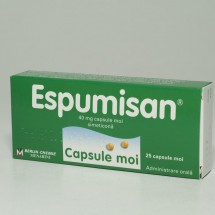 Espumisan 40mg, 2 blistere x 25 capsule moi