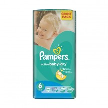 Pampers nr.6 Active Baby Extra Large 15+ kg x 56 buc