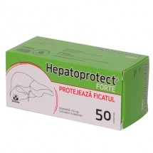 Hepatoprotect Forte 150mg, 5 blistere x 10 comprimate