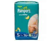 Pampers - Scutece Junior Regular, 16 buc.