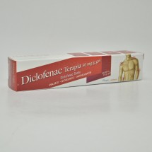 Diclofenac Terapia 50 mg/g, 45 g gel