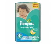 Pampers 4+ active baby 9-16 kg GP (70)