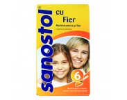 Sanostol Multivitamine si fier x 230 ml