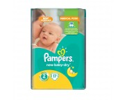Pampers Small (3-6 kg) x 17 buc.