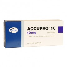 Accupro 10 mg, 30 comprimate filmate