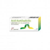 Acid Acetilsalicilic Labormed 500 mg x 20 compr