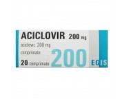 Aciclovir 200 mg x 20 compr.  ARM