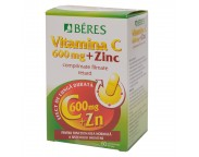 Beres Vitamina C 600mg + Zn x 60 tb