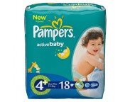 Pampers - Scutece Maxi Plus Regular, 18 bucati