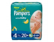 Pampers - Scutece Maxi Regular, 20 buc.