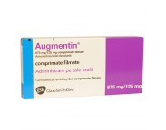 Augmentin 875/125mg x 2blistere x 7cpr.film.