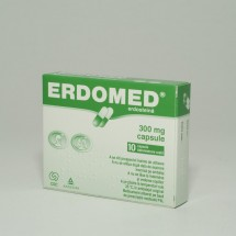 Erdomed 300 mg, 10 capsule