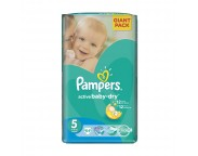 Pampers nr.5 Junior Active Baby 11-18 kg x 64 buc