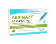 Aerinaze 2,5 mg / 120 mg x 10 compr. film. elib. modif.