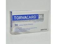 Torvacard 20mg x 30cpr. film.