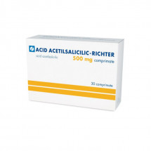 Acid acetilsalicilic-Richter 500mg x 30 compr. ARM