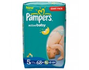 Pampers Giant nr.5 x 68 buc.