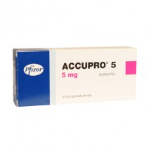 Accupro 5 mg, 30 comprimate filmate