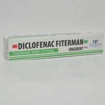 Diclofenac Fiterman 10mg/g unguent 35g