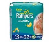 Pampers - Scutece Midi Regular, 22 buc.