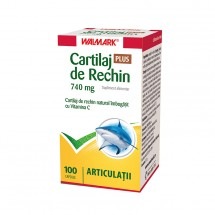 W Cartilaj de rechin 740 mg PLUS,  100 capsule