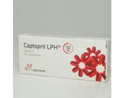 Captopril LPH (R) 50mg x 30 compr.   LBM