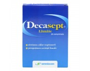 Decasept lamaie x 20 cpr.