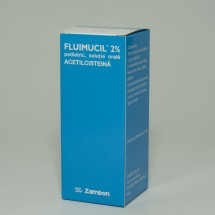 Fluimucil 2% pediatric x 1fl. st.bruna x 100ml +mas.dozat