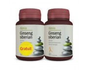 Alevia Ginseng siberian 250mg pachet 30 cpr + 30cpr
