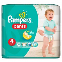 Pampers nr.4 Pants Active Baby 9-14kg, 24 bucati